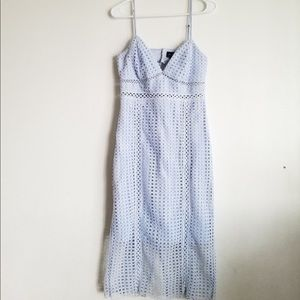 Bardot light blue dress like new